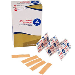 "Buy Junior Adhesive Bandages, Sterile 3/8"" x 1.5""  (100/box) by Dynarex from a SDVOSB 