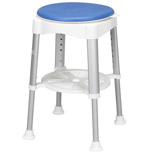 Buy Shower Stool with Padded Rotating Seat by Drive Medical from a SDVOSB | Bath Stools