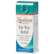 Buy Similasan Ear Wax Relief Drops by Similasan from a SDVOSB | Ear Supplies
