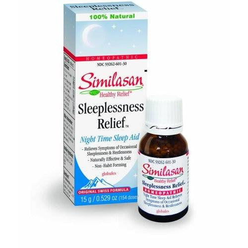 Similasan Sleeplessness Relief Drops 15 gram for Insomnia by Similasan | Medical Supplies