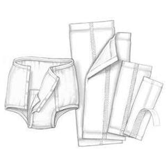 "Buy Underwear Liner with Adhesive Strip, 10"" x 24"", 100/cs by Covidien 