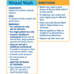 Buy Simply Saline Sting-Free Wound Wash Saline Spray, 3.0 oz by Church & Dwight wholesale bulk | Wound Cleansers