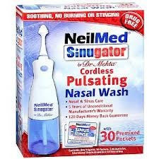 Buy Neilmed Sinugator Cordless Nasal Wash System by NeilMed Pharmaceuticals | Allergy Relief