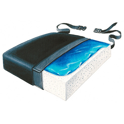 Buy Skil-Care Bariatric Gel Foam Cushion online used to treat Wheelchair Cushions - Medical Conditions