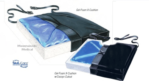 Buy Skil-Care Gel-Foam X Wheelchair Cushion online used to treat Gel Wheelchair Cushions - Medical Conditions