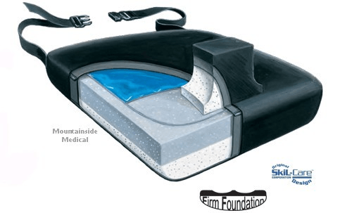 Buy Skil-Care Leg Abductor Wheelchair Cushion by Skil-Care Corporation wholesale bulk | Gel Wheelchair Cushions