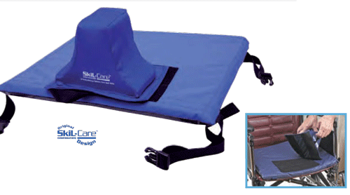 Skil-Care E-Z Transfer Slider Pommel Wheelchair Cushion