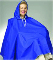 Buy Skil-Care Rain Cape with Carrying Case by Skil-Care Corporation | Home Medical Supplies Online