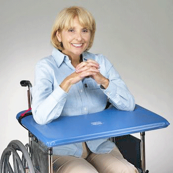 Skil-Care Soft-Top Wheelchair Lap Tray - Wheelchair Accessories - Mountainside Medical Equipment