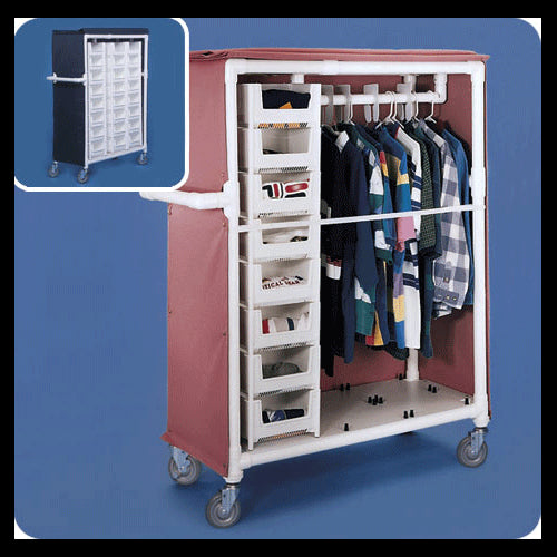 Buy Deluxe Garment Rack Distribution Cart by Innovative Products Unlimited | Home Medical Supplies Online