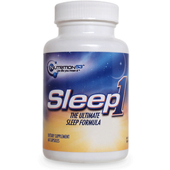 Buy Sleep1 Ultimate Sleep Formula 60 Capsules by n/a from a SDVOSB | Insomnia