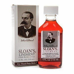Buy Sloans Liniment Liquid for Hand Pain Relief 4 oz online used to treat Muscle and Joint Relief - Medical Conditions