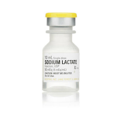 Sodium Lactate for Injection 50 mL (25 Tray)