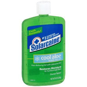 Buy Solarcaine Burn Gel with Extra Aloe 8 oz by Schering Plough | Home Medical Supplies Online