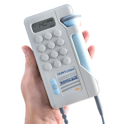 Huntleigh Fetal Dopplex I Plus Doppler with LCD Display - Dopplers - Mountainside Medical Equipment