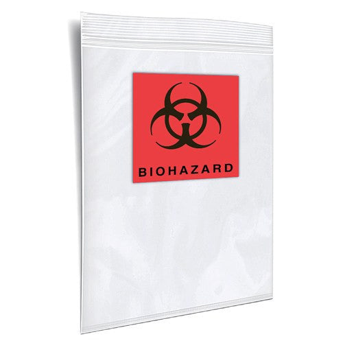 Buy Specimen Transport Bag - 100 Clear Zip Lock Bags online used to treat Specimen Collector - Medical Conditions