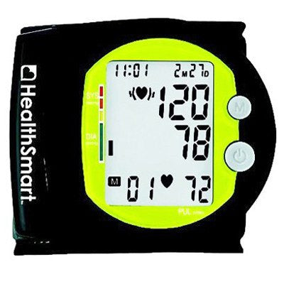 Buy Sports Automatic Wrist Digital Blood Pressure Monitor online used to treat Blood Pressure Monitors - Medical Conditions