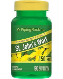 St. John's Wort 300 mg 90 Capsules by Piping Rock Health