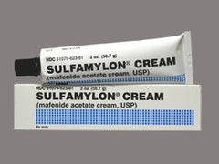 Buy Sulfamylon Mafenide Acetate Topical Burn Cream online used to treat Skin Care - Medical Conditions