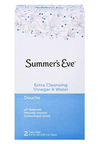 Summers Eve Extra Cleansing Vinegar & Water Douche 2 Pack