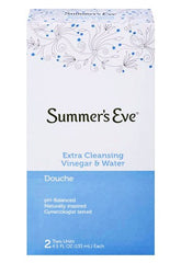 Buy Summers Eve Extra Cleansing Vinegar & Water Douche 2 Pack by C.B. Fleet Company from a SDVOSB | Yeast Infection