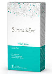 Buy Summers Eve Fresh Scent Douche 2 pack by C.B. Fleet Company from a SDVOSB | Women's Health
