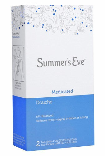 Buy Summers Eve Medicated Douche 2 Pack by C.B. Fleet Company | SDVOSB - Mountainside Medical Equipment