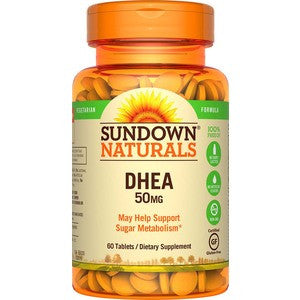 Natures Bounty DHEA 50mg Tablets