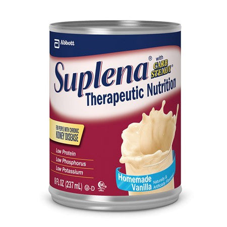 Suplena with Carb Steady 8 oz Vanilla 24/Case