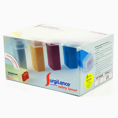Buy Surgilance Safety Lancets 100/box by MediPurpose from a SDVOSB | Diabetes Supplies