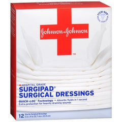 Surgipad Surgical Gauze Dressing Pads for Gauze Pads by Johnson & Johnson | Medical Supplies