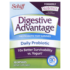Buy Schiff Digestive Advantage Sustenex Daily Probiotic Capsules by Reckitt Benckiser from a SDVOSB | Digestive Care