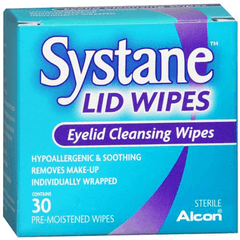 Buy Systane Eyelid Cleansing Wipes 30/Box by Alcon Laboratories | Home Medical Supplies Online