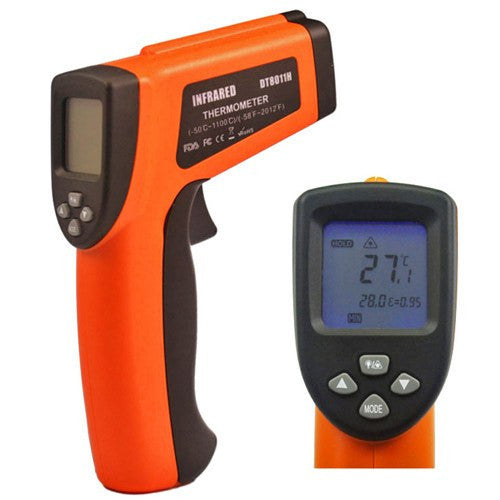 Buy High Accuracy Infrared Thermometer w/ Emissivity & Dual Laser Sighting by n/a | Thermometers