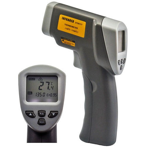 Buy High Temperature Precision Infrared Thermometer w/ Adjustable Emissivity online used to treat Thermometers - Medical Conditions