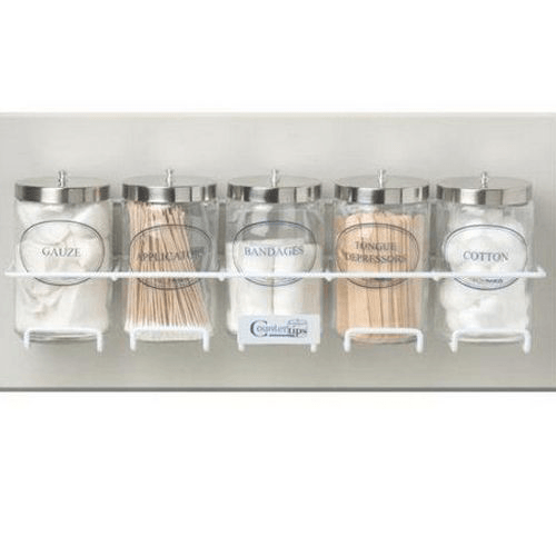 Sundry Jar Rack with Mounting Hardware - Physicians Supplies - Mountainside Medical Equipment