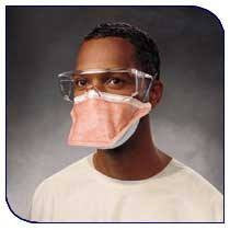 Tecnol Fluidshield N95 Particulate Filter Mask (Regular Size) for Face Masks by Kimberly Clark | Medical Supplies