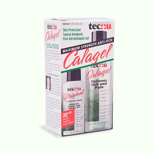 Calagel Anti Itch First Aid Antiseptic Gel 6 oz