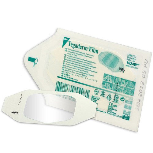 Buy 50 Tegaderm Transparent Film 4 x 4 Dressings online used to treat Transparent Film Dressing - Medical Conditions
