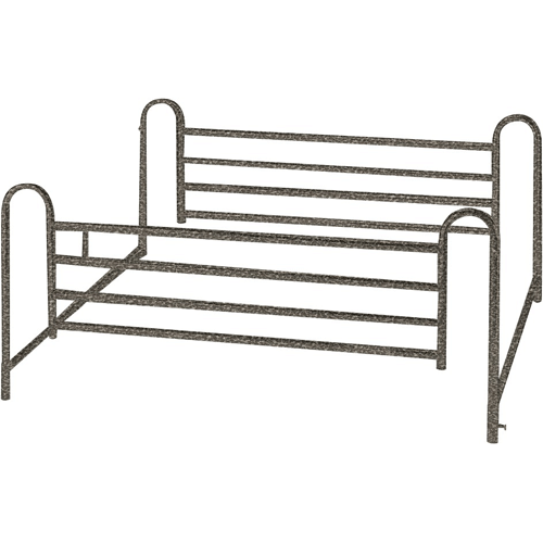 Telescoping Full Length Hospital Bed Side Rails - Hospital Beds - Mountainside Medical Equipment
