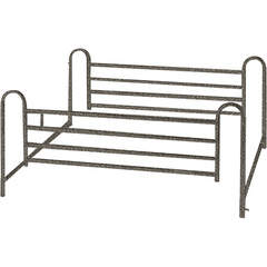 Telescoping Full Length Hospital Bed Side Rails for Hospital Beds by Drive Medical | Medical Supplies