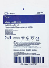 Buy Telfa Adhesive Island Dressing 4 x 5, Sterile 25/Box online used to treat Wound Care - Medical Conditions