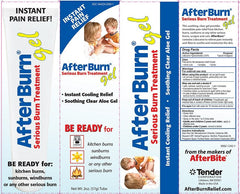 After Burn Gel Treatment for Serious Burns for Creams & Skin Barriers by n/a | Medical Supplies