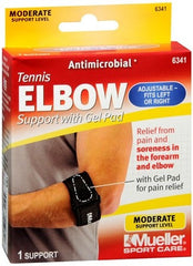 Buy Tennis Elbow Support with Gel Pad by Mueller Sport Medicine from a SDVOSB | Elbow Braces