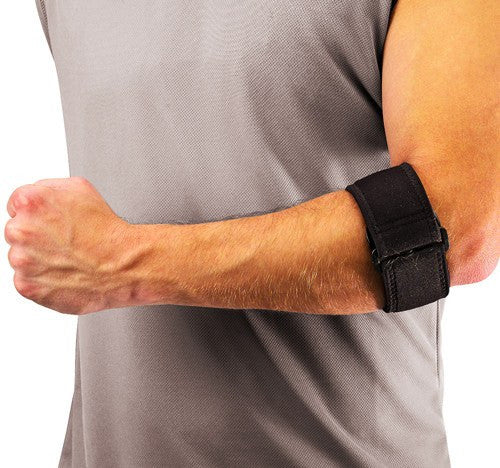 Tennis Elbow Support with Gel Pad for Elbow Braces by Mueller Sport Medicine | Medical Supplies