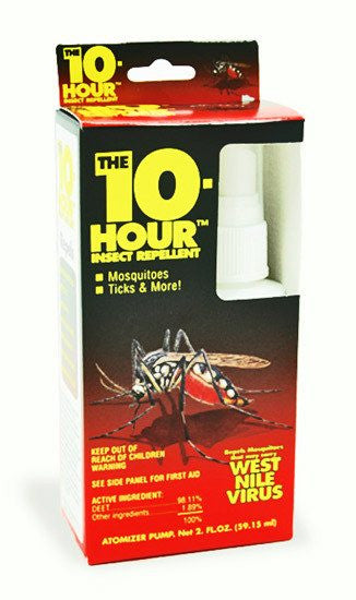 The 10 Hour Insect Repellent 2 oz