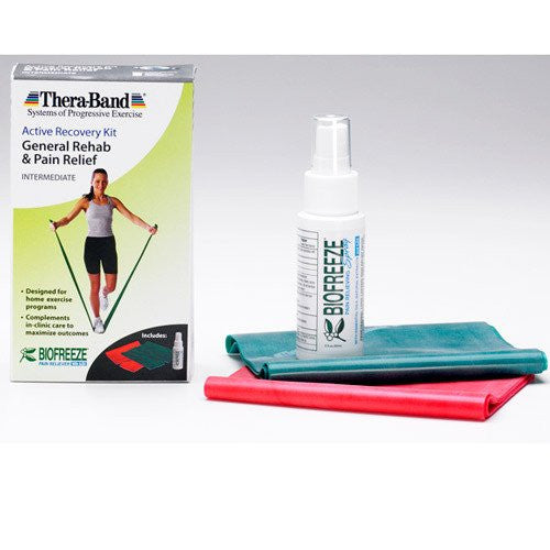 Buy Thera Band General Rehab and Pain Relief Intermediate Level by Fabrication Enterprises | SDVOSB - Mountainside Medical Equipment