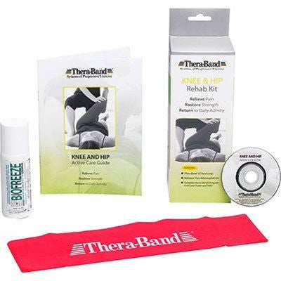 Thera Band Knee and Hip Rehab Kit - Rehab Supplies - Mountainside Medical Equipment