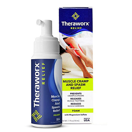Buy Theraworx Muscle Cramp and Spasm Relief Foam online used to treat Muscle Cramp Relief Therapy - Medical Conditions
