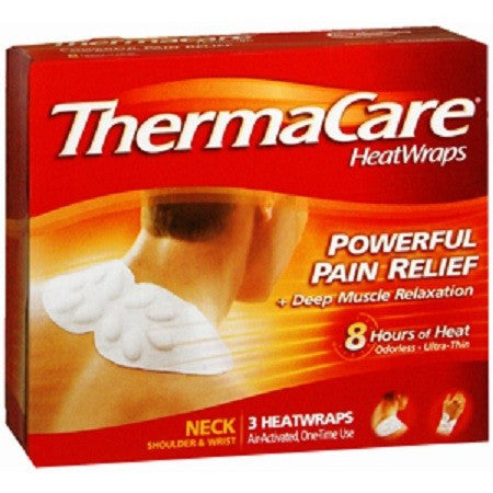 Buy ThermaCare Heat Wraps for Neck Shoulder and Wrist by n/a online | Mountainside Medical Equipment